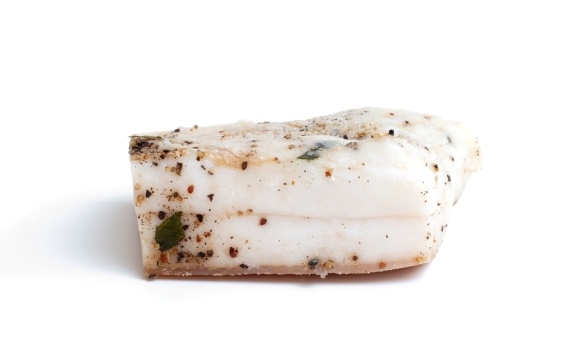 Шпик соленый с чесноком от Знатного Фермера