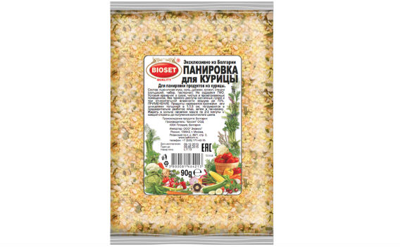 Панировка для курицы от Максима Астахова. 90 гр.