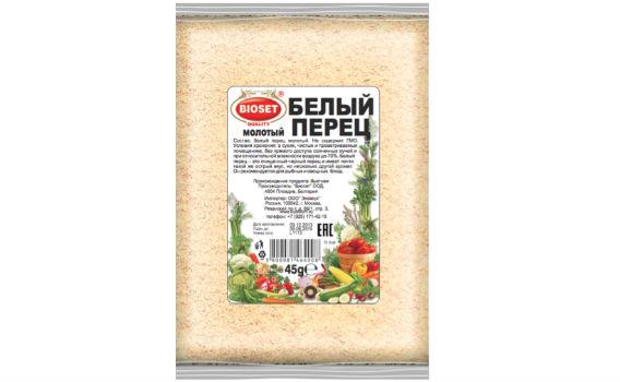 Перец белый молотый от Максима Астахова. 45 гр.