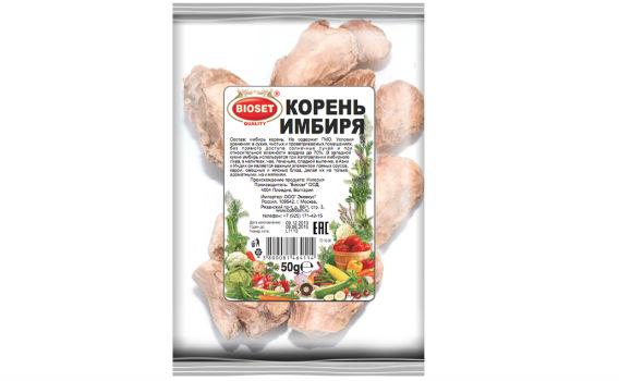 Имбирь (корень) от Максима Астахова. 50 гр.