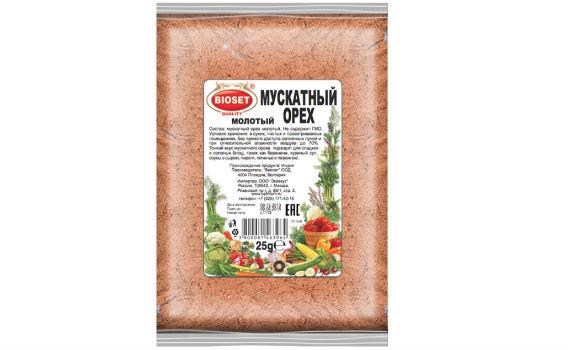 Мускатный орех молотый от Максима Астахова. 25 гр.
