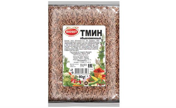 Тмин обыкновенный от Максима Астахова. 80 гр.