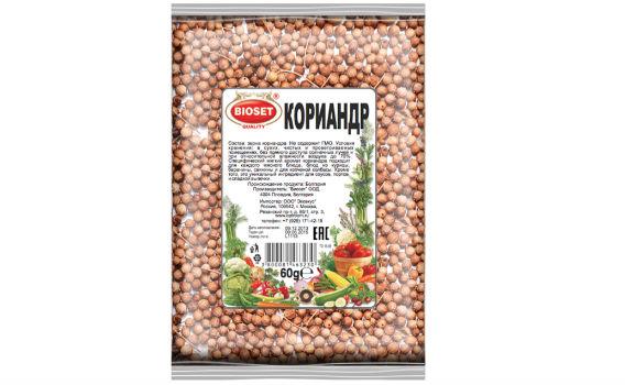 Кориандр от Максима Астахова. 60 гр.