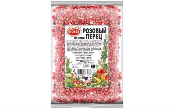 Перец розовый (семена) от Максима Астахова. 25 гр.