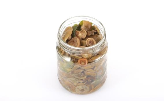 Рыжики еловые соленые от Галины Макаровой. 0,5 л