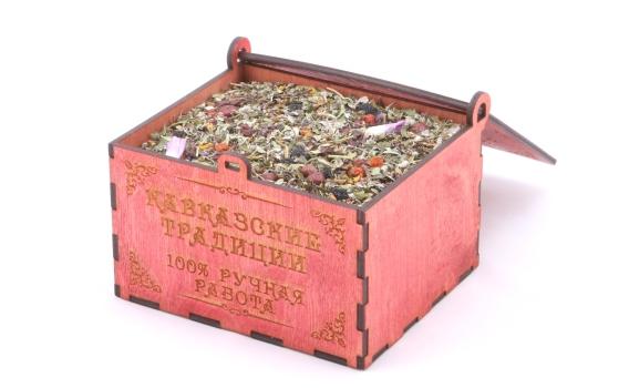 Травяной чай Кавказские традиции от Валерия Дунькова. 180 гр.