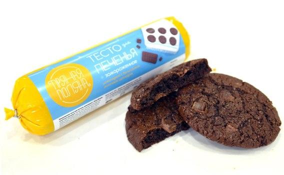 Тесто для печенья шоколадное с бельгийским шоколадом от Марины и Виталия Михалко, 1 кг