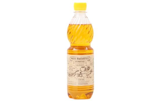 Масло подсолнечное нерафинированное ароматное от Евгения Бердникова, 500 мл