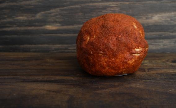 Сыр Шевр с паприкой из козьего молока от фермерского хозяйства Курцево, 0,15 кг