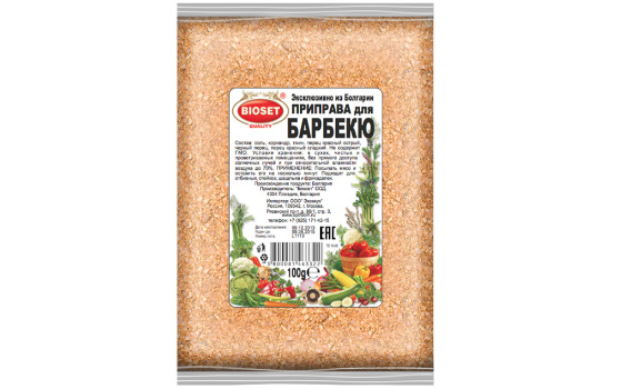 Приправа для барбекю от Максима Астахова. 100 гр.