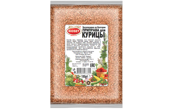 Приправа для курицы от Максима Астахова. 100 гр.