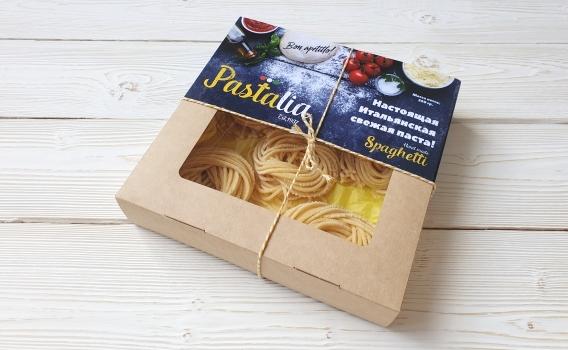 Спагетти из твердых сортов пшеницы от Ольги Михайловой, 250 гр.