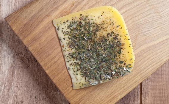 Сыр КАЧОТТА прованские травы от Николая Быкова, 0,17 кг