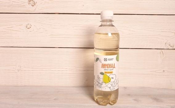 Лимонад яблоко - груша от Андрея Духовского и Константина Балакшина, 0,5 л