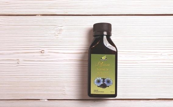 Масло черного тмина нерафинированное, первый холодный отжим, от Сергея Пахомова, 0,1 л