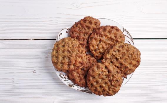 Печенье Спортивное белковое с изюмом и курагой (без сахара), от Сергея Пахомова, 180 гр.