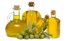 Масло растительное, оливки