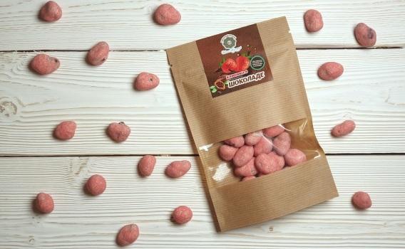 Клубника в шоколаде от Натальи Слепневой, 100 гр.
