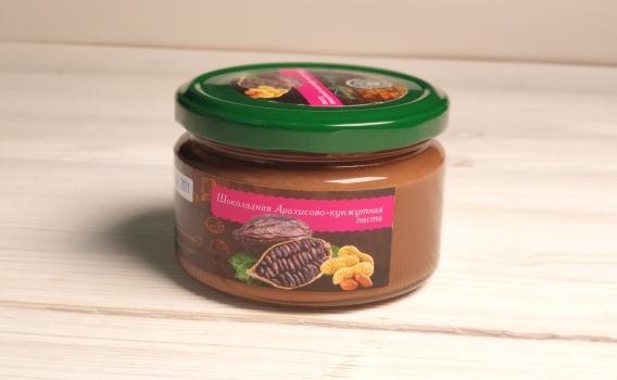 Шоколадная арахисово - кунжутная паста от Натальи Слепневой, 250 гр.