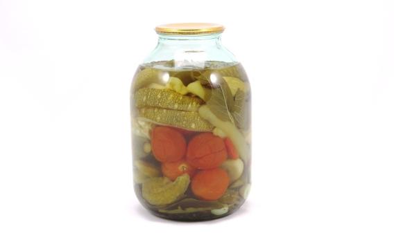 Овощное ассорти от Татьяны Летуновой. 3 л