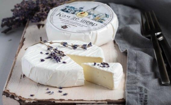 Сыр Кам де шевр от Елены Орловой, 160 гр.