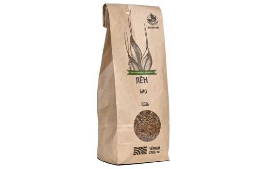 Семена льна от Павла Абрамова, 0,5 кг