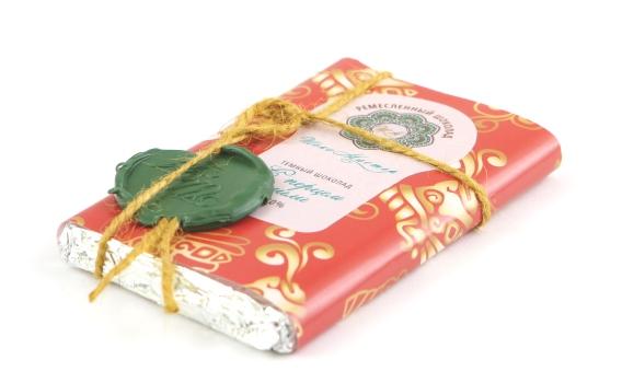Шоколад темный 70% с перцем чили от Натальи Слепневой, 70 гр.