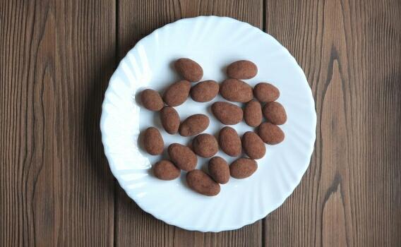 Какао - бобы в ремесленном шоколаде от Натальи Слепневой, 100 гр.