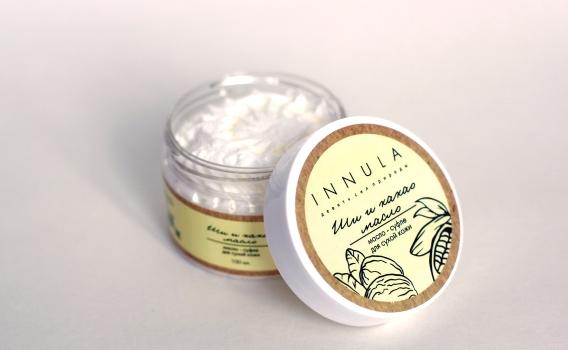 Масло Ши и какао - масло от Инны Асадуллиной, 100 мл