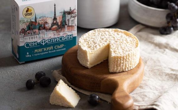 Сыр Сен - Фелисьен от Елены Орловой, 125 гр.