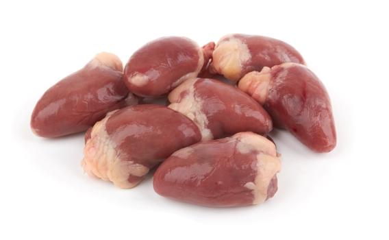 Цыпленок сердца свежемороженые от Станислава Караганского, 0,3 кг